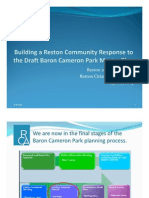 Building a Reston Community Response to the Draft BCP Master Plan--FINAL