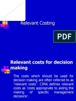 Relevant Costing-MBA