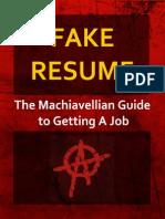 FakeResume Book