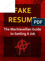 FakeResume Book