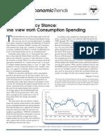 National Economic Trends October