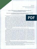 Uloga i Perspektiva Mikrokreditnih Organizacija