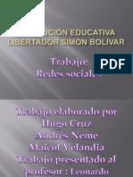 Institución educativa libertador simón bolívar