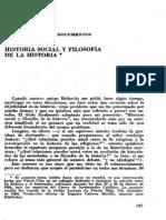 17033349 Vilar Pierre Historia Social y Filosofia de La Historia Dialectica n 5 1978