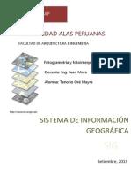 Sistema de Informaciion Geografica.