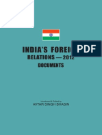 India Foreign Relation 2012