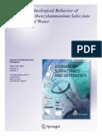 Phase and Rheological Behavior of Cetyldimethylbenzylammonium Salicylate (CDBAS) and Water.pdf