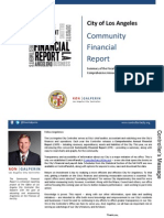 Los Angeles City Controller Ron Galperin's Community Financial Report