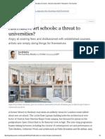 Alternative Art Schools_ a Threat to Universities_ _ Education _ the Guardian