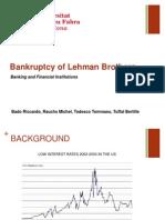 Lehman Brothers Presentation