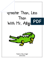 Greaterthan Less Than With Mr Alligator