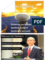 Chapter 7. Public Speaking
