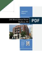 244 West Gilman Street Appraisal