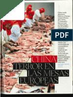 China, terror en las mesas europeas (por Carlos Manuel Sánchez)