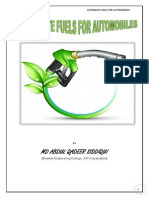 ALTERNATE FUELS FOR AUTOMOBILES BY M A QADEER