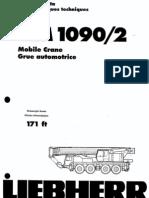 110 Ton LTM 1090-2 Liebherr Long Boom