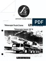 180 Ton LTM 1160-2 Liebherr
