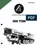 300 Ton LTM 1225-A Liebherr