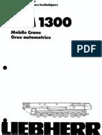 365 Ton LTM 1300 Liebherr