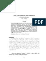 06. Suwadji - Manajemen Peningkatan Mutu Berbasis Pondok Pesantren
