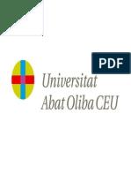 Universitat Abat Oliba Symbol