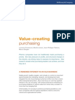 Value Creating Purchasing