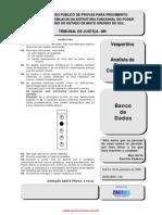 TNS Analista de Sistema Computacional Banco de Dados
