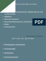 ELEMENTOS DE GESTION CULTURAL