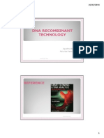 II. Recombinant DNA Technology