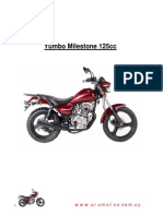 Yumbo Milestone 125cc - Manual de Servicios