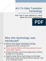 Intel's Tri-gate Transistor Tech.