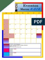 Calendario Robotica Colombia 2014
