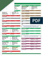 u14 First Division - 2014