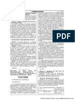 Decreto Supremo 004-2014-MINAM - Aprueban el TUPA de OEFA