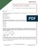 Progressão Geométrica - Exercício Intermediário