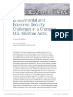 Environmental and Economic Security Challenges in a Changing U.S. Maritime Arctic, by Lawson W. Brigham