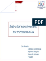 Safety Critical Automotive Systems