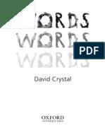 David Crystal Words Words Words 3-8