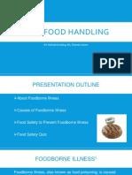 ssa food safety training