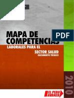 Mapa de Competencias Laborales Para El Sector Salud