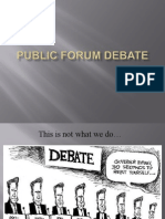 PF Debate Intro PPT