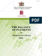 Balance of Payments 2004