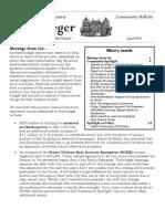Community Bulletin - April 2014