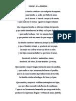 Himno a La Familia