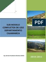 SUBMODELO CONFLICTOS DE USO DEPARTAMENTO CAJAMARCA