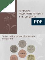 Presentacion LEY 20422