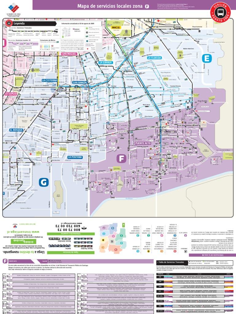 Transantiago Mapa