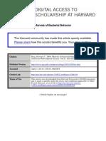 Marvels of Bacterial Behavior (Berg H.C.)