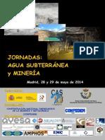 """Jornadas """"Agua subterránea y minería"""""""