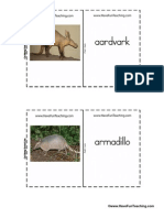 Mammal Flash Cards